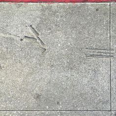 #Oakland #sidewalk #sidewalkstamps  #wetcement #pavement #curb #gutter #concrete #cement #urban #urbanart #urbanarcheology #pavement #hardscape #streetart #modern #modernist #accidentalart #abstractart #abstract #art #sidewalkstamps #lookdown #unintentionalart #unexpectedart #learnminimalism #minimalist #minimal #uniminimal