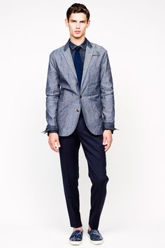 J.Crew - Spring 2014 Menswear - Look 2 of 21