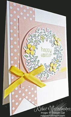 » Blog Archive » My Easter Card Class – Part 4: A Spring Wreath