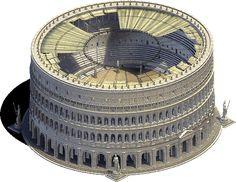 El Anfiteatro Flavio (El Coliseo de Roma)                                                                                                                                                                                 Más