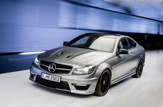 Introducing the C63 AMG Edition 507    European model shown