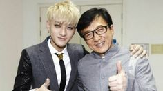 "Jackie Chan and Huang Zitao to make a movie ""Railroad Tigers ..."