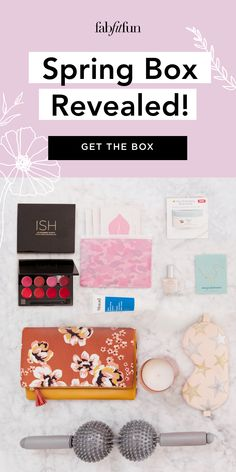 Get the FabFitFun Spring Box today - just $39.99 with code BRIGHT. Hurry this won't last long. New members get 20% off their 1st box.