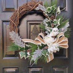 Winter Owl Wreath