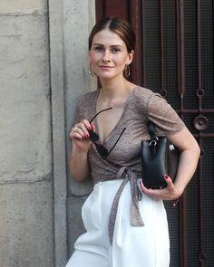 KACHOROVSKA / black leather Erna Mini bag / #kachorovska