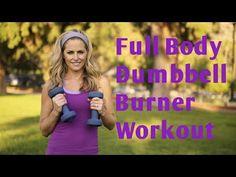 30 Minute Full Body Dumbbell Burner Workout for Strength & Cardio - YouTube