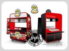 Desain Logo | Logo Kuliner |  Desain Gerobak | Jasa Desain dan Produksi Gerobak: Desain Gerobak Bite Me