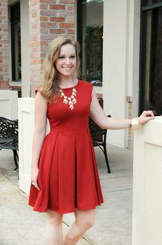 Flared SKYLAR Dress - Kelly's Closet Boutique  #raidkellyscloset