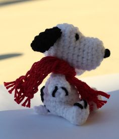 Snoopy: free crochet pattern