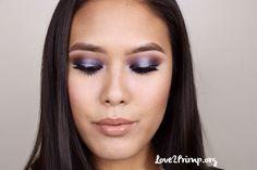 Use black base Bh Cosmetics Galaxy Chic, Galaxy Chic Palette, Purple Haze, Makeup Palette, Make Up, Tutorials, Base, Fashion, Rolling Makeup Case