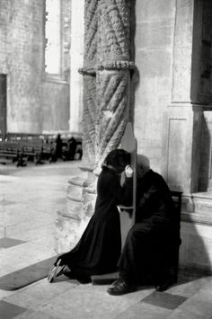Lisbon, Portugal, 1955 by Henri Cartier-Bresson. S) confession