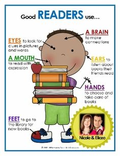 GOOD STUDENTS USE... Mini Posters for reading, writing, math & science! Use as decor or for packet/binder covers. :)