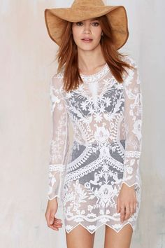 Call Out Lace Dress | Shop Clothes at Nasty Gal!