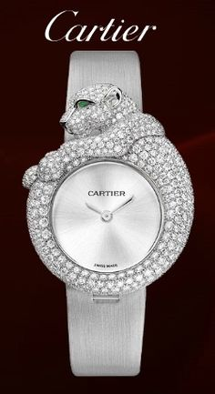Cartier Feline Diamond Watch...