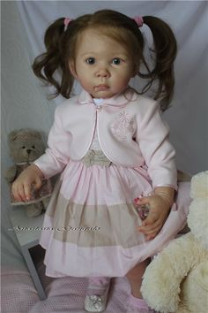 Ira - Sweet Toffee! And chocolate or not ... Reborn Doll Anastasia Gangan / Reborn Baby Dolls - photos, making their own hands. Reborn Baby doll - vote skill / Beybiki. Dolls photo. Clothes for dolls