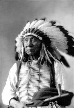 5. NATIVE AMERICAN: Makhpiya Luta (Chief Red Cloud)