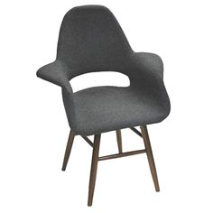 Mod Imports Eero Dining Chair, Gray