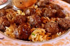If you're looking for a terrific comfort food meal these Salisbury steak meatballs can't be beat.