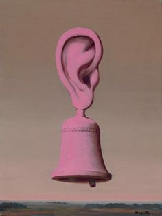 """magrittee: """"Rene Magritte - The Music Lesson (Sound of the Bell), 1968 """""""