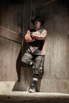 Shorty Gorham, bullfighter.  Lots of bullriders owe their life to him!