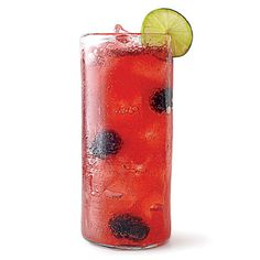 Blackberry-Lime Agua Fresca | Use club soda instead of water to make this a bubbly sipper. | #Recipes | SouthernLiving.com