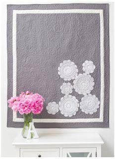 Applique Doily Quilt from Make it Sew Modern by Vanessa Christensen.