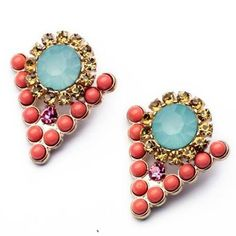 2016 New Fashion Hot Selling Triangle Designer Punk Earrings For Women