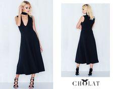 Adias Dress https://cholatparis.com/products/adias-dress-black