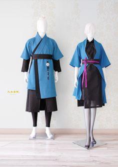 천의답호 커플생활한복 남자생활한복 여행한복 커플한복 천의무봉 : 네이버 블로그 Korean Dress, Korean Outfits, Style Lolita, Modern Hanbok, Armor Clothing, Elf Clothes, Unique Fashion, Fashion Design, Fantasy Costumes