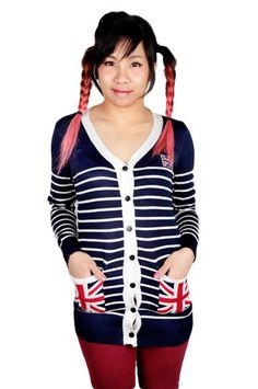 Here's some UK cardigan! So awesome!