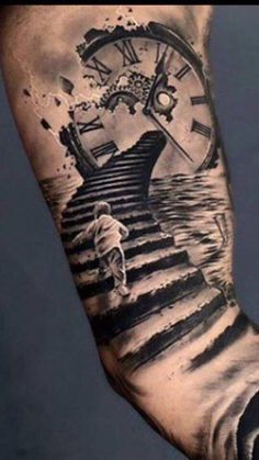 Our Website is the greatest collection of tattoos designs and artists. Find Inspirations for your next Clock Tattoo. Search for more Tattoos. Forearm Tattoos, Body Art Tattoos, Tattoo Drawings, Hand Tattoos, Tattoo Art, Best Sleeve Tattoos, Tattoo Sleeve Designs, Tattoo Designs Men, Trendy Tattoos