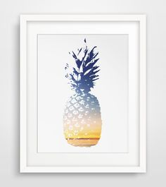 A pineapple a day keeps the worries away.