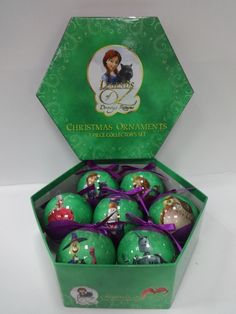 Get a sneak peek at the Christmas Ornaments that will be available. The ornaments are inspired by the upcoming movie Legends of Oz: Dorothy's Return coming out in May 2014.