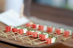 watermelon skewers