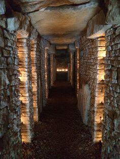 Passageway Longbarrow drystone