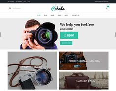 """Check out new work on my @Behance portfolio: """"Raboda - Responsive eCommerce HTML5 Template"""" http://be.net/gallery/40091921/Raboda-Responsive-eCommerce-HTML5-Template"""