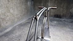 VIKS RAW hand made stainless steel Bicycle Frame Set fixed gear unique RARE bike