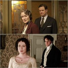 Pride and Prejudice 1995 Colin Firth Jennifer Ehle BBC Jane Austen, Elizabeth Bennet, Bbc, Jennifer Ehle, King's Speech, Romance, Pride And Prejudice, Period Dramas, Zombies