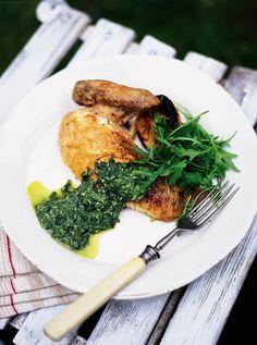 Pesto Chicken Recipe | Chicken Recipes | Jamie Oliver Recipes