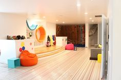 Home tour: Downstairs play area