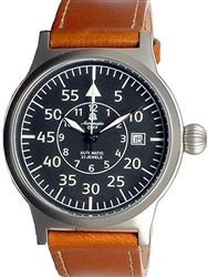 Aeromatic 1912 Beobachter Aviator Automatic Watch with Onion Crown #A1143