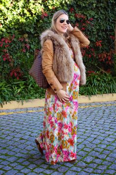 LOOK DE EMBARAZADA EN OTOÑO ESTILO BOHO CHIC, pregnant, look para embarazadas, embarzada segundo trimestre, como vestir embarazada en invierno, it shoes, louis vuitton, la traficante de zapatos, dress by it shoes, vestidos para embarazadas, boho chic pregnant style, love