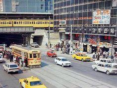 1972年(昭和47年)「錦糸町駅前・江東楽天地映画街」の様子