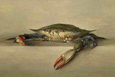 stilllifequickheart:  Sarah K. Lamb Portrait of a Crab 2005