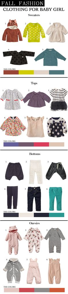 Baby Fall Fashion 2013: Dressing Up Baby Girl