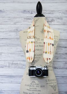 Hey, I found this really awesome Etsy listing at https://www.etsy.com/listing/236386636/scarf-camera-strap-adjustable-modern