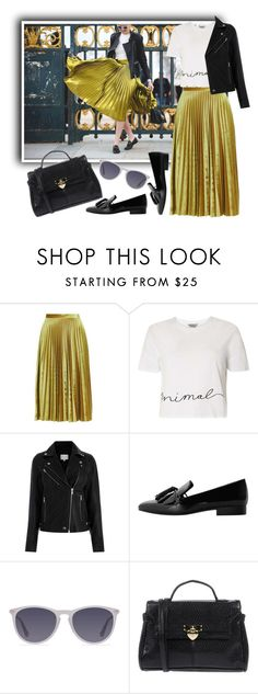 """""""How to Fashion Week"""" by beetlescarab ❤ liked on Polyvore featuring Topshop, Dorothy Perkins, Warehouse, MANGO, Camomilla and NYFW"""