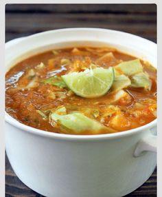 Fat Burning Cabbage And Tortilla Soup! #Food #Drink #Trusper #Tip