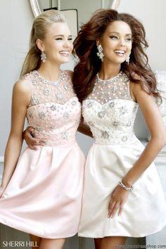 Sherri Hill Short Dress 21323 at Prom Dress Shop