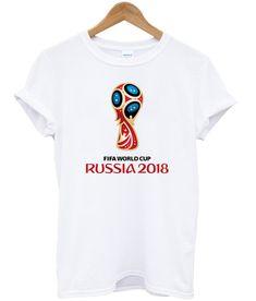 19e4fcbe9 FIFA World Cup Russia 2018 Logo T-Shirt